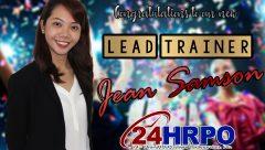 Congrats Jean